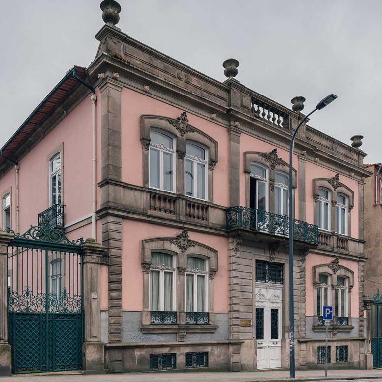 Fachada do Polo Cidade do Porto
